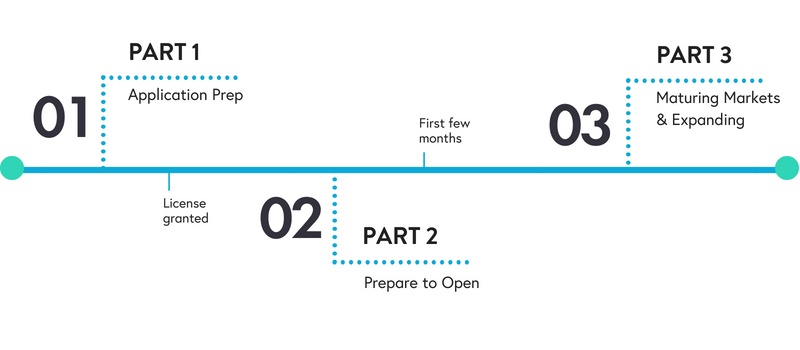 Blog - 3 part series timeline