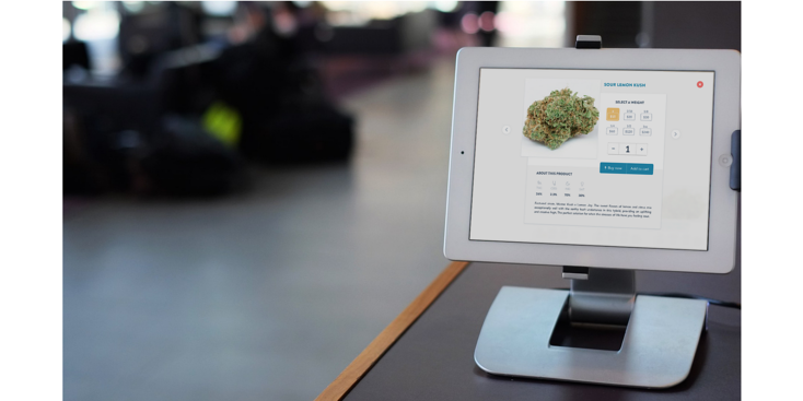 Baker kiosks speed up transaction times and reduce lines in dispensaries across the US and Canada