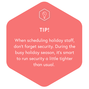Holiday Guide - Ch 5 Security Tip
