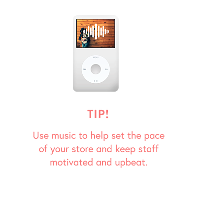 Holiday Guide - Ch 6 music Tip