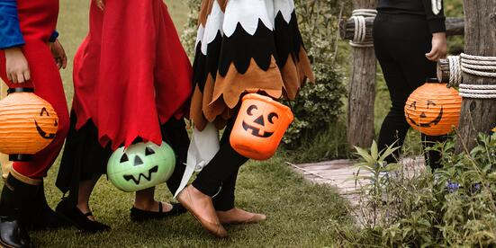celebrate Halloween by offering discounts to dressed up customers