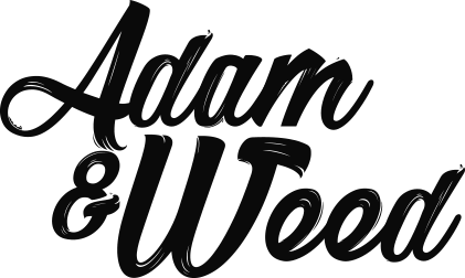 Adam-and-weed-logo-black